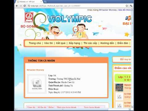 hack violympic 2012