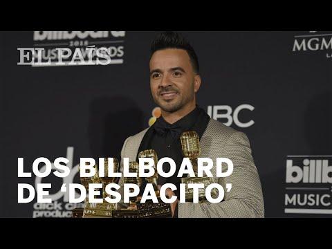 Los Billboard de 'Despacito' y Ed Sheeran