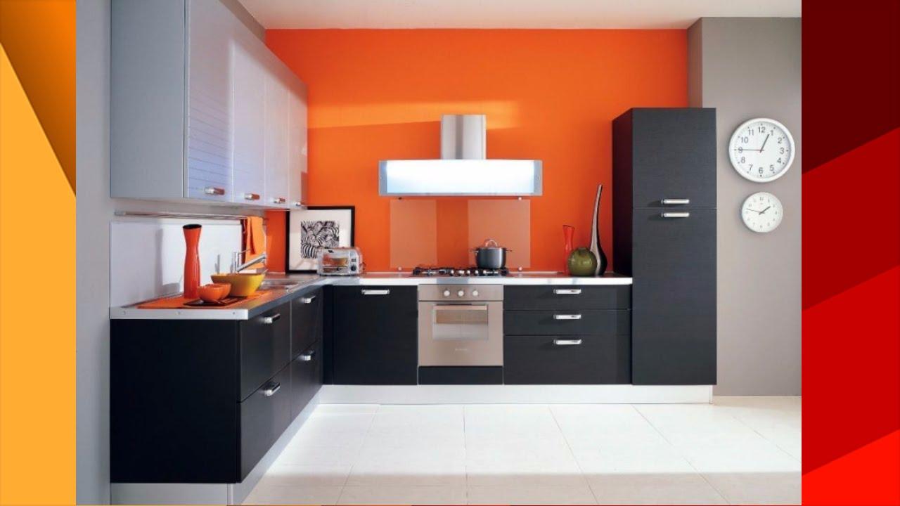 Small Kitchen Design Creative Kitchen With Wooden Work Youtube
