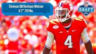 Deshaun Watson 2017 NFL Draft Scouting Report