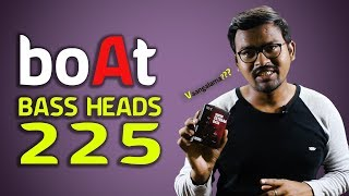 ₹599 Boat 225 Earphones Review - Base Heads Review