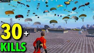 SUPER CRAZY AGRESSIVE GAMEPLAY!!! | 30 KILLS SOLO VS SQUAD PUBG MOBILE