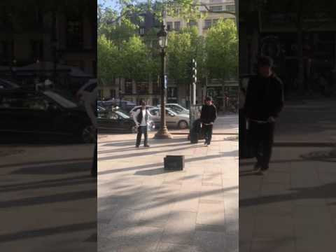 Poppin in Paris (Avenue des Champs Elysees )