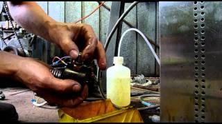 Yanmar YSE12 Diesel Injector Pump Dismantled