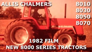 Repeat youtube video 1982 Allis Chalmers Dealer Movie New 8000 Series Tractors
