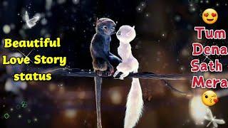 Beautiful 😘 Cute Love Story 🤩 WhatsApp Status Video By Prasenjeet Meshram