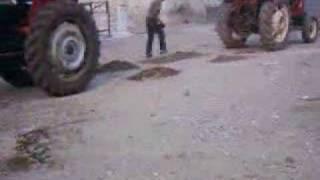tractor çekişme fıat tümosan massey ferguson