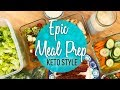EPIC Meal Prep - Chicken, Salad, Egg Bites and Muffins - Keto / Low Carb Meal Prep