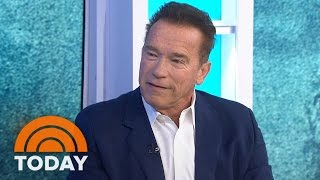 Arnold Schwarzenegger On Replacing Donald Trump On 'Celebrity Apprentice' | TODAY