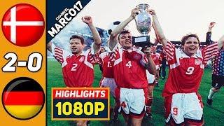 Дания Германия 2 0 Обзор Матча Финал Чемпионата Европы 26 06 1992 HD