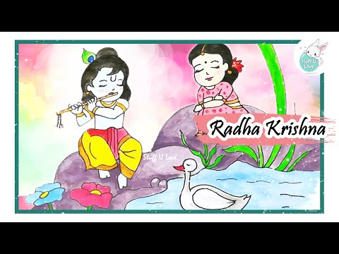 how-to-draw-cute-radha-krishna-drawing