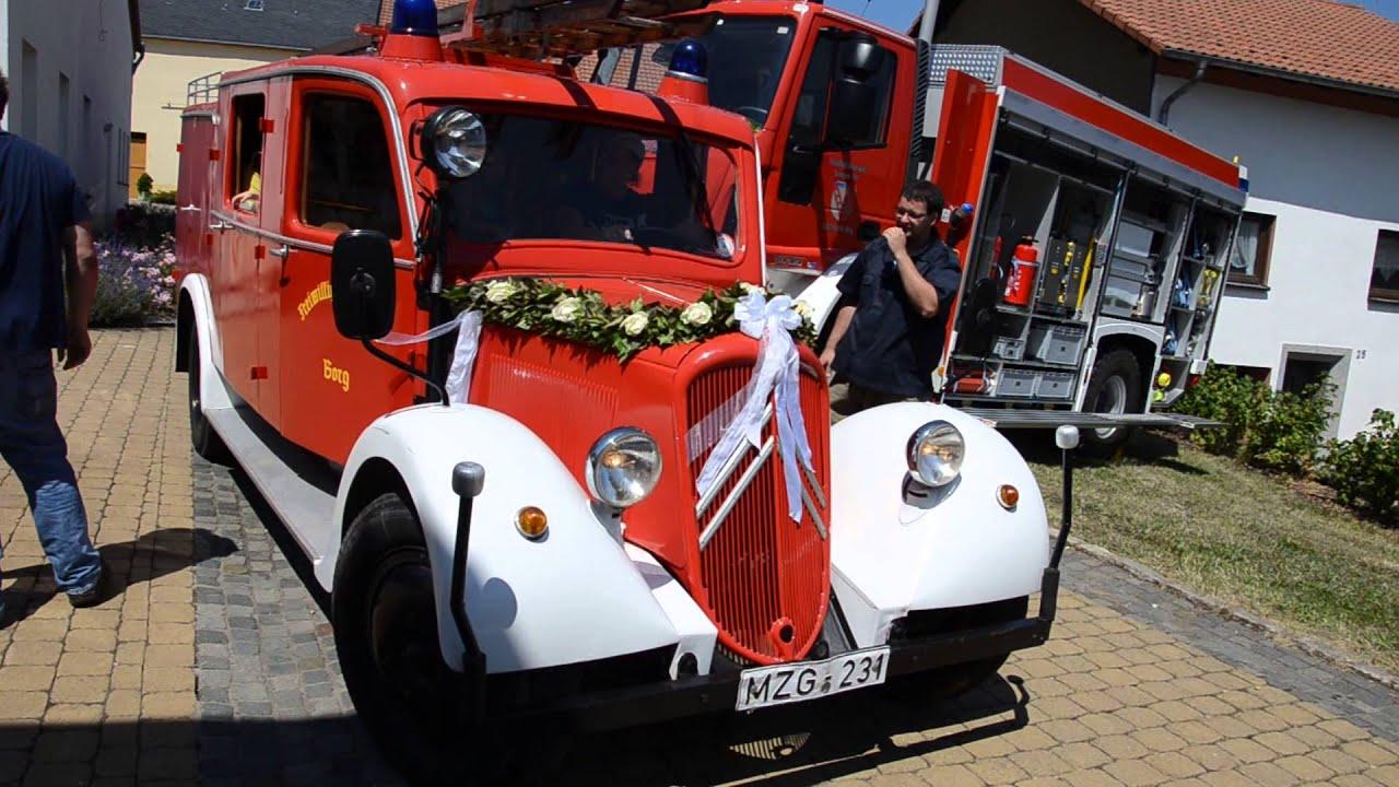 Citroen 60 Geburtstag Feuerwehr Oldtimer Youtube