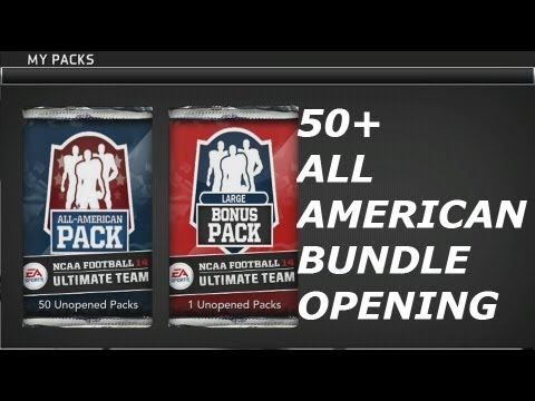 #NFUT   50 All-American Bundle Opening   Mario Williams, Matt Kalil and More! Part 2