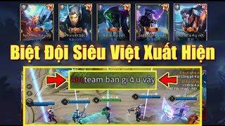 [Gcaothu] Phản ứng team bạn khi chứng kiến biệt đội Siêu Việt lần đầu xuất hiện giải cứu thế giới