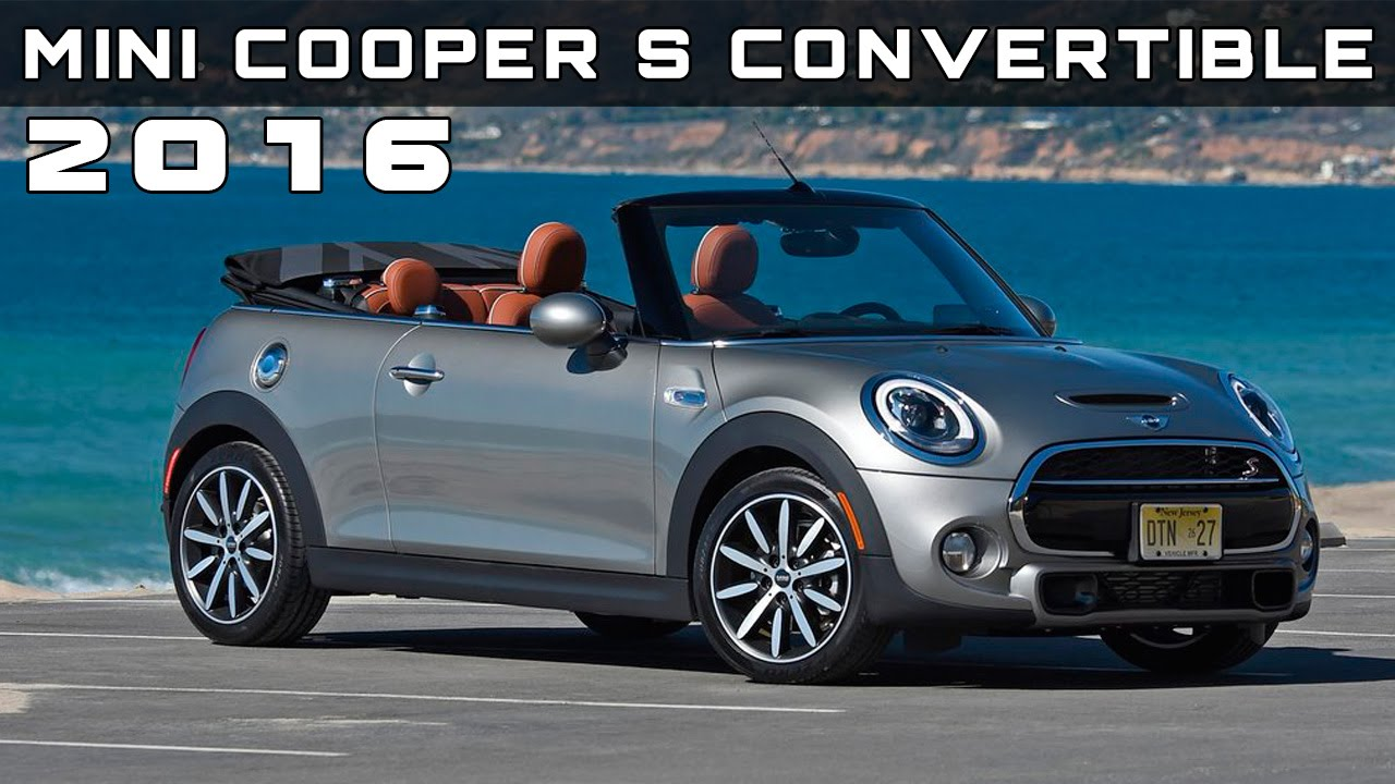 2016 Mini Cooper S Convertible Review Rendered Price Specs Release Date