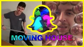 Snapchat Compilation - The One Where We Move House