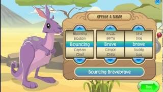 Animal Jam: Redeeming 6 Month AJ Membership & Getting Kangaroo!