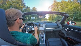 Tuning my Porsche Boxster 981 GTS (Loud Exhaust)