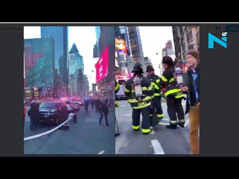 Explosion at Port Authority Bus Terminal in Manhattan, 1 arrested