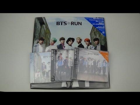 Unboxing BTS (Bangtan Boys) 防彈少年團 6th Japanese Single RUN [All 4 Editions]