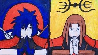 How to draw Madara Uchiha and Hashirama || Как нарисовать Мадару Учиху и Хашираму || Naruto | Наруто(Привет! Меня зовут Ева, и мне нравиться рисовать, играть на пианино, снимать и монтировать видео. . Музыка|Music..., 2016-08-14T08:37:44.000Z)