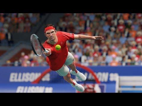🔴 AO Tennis 2- Roger Federer vs Nadal – Gameplay PC 1080p