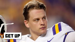 Joe Burrow will have a quick transition from LSU  to the NFL - Louis Riddick | Get Up