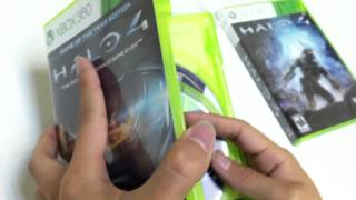 Unboxing Halo 4 Game of the Year Edition Xbox 360