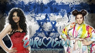 Израиль на Евровидение 1998-2018 | Eurovision 1998 - 2018 - Israel - Dana International - Netta