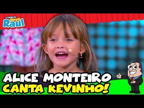 ALICE MONTEIRO arrasa com música do Mc KEVINHO  A TURMA DO VOVÔ RAUL GIL