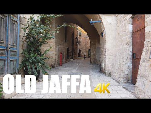 Jaffa Old City, Tel Aviv walking tour 4k 60fps