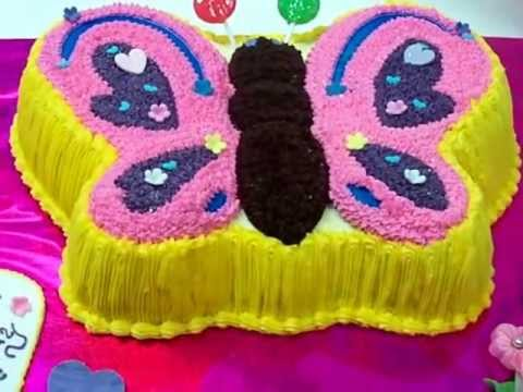 Fresco Foods Creates A Butterfly Birthday Cake Youtube
