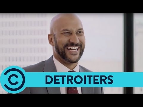A Giant Glass Boot Of Wine - Detroiters | Comedy Central