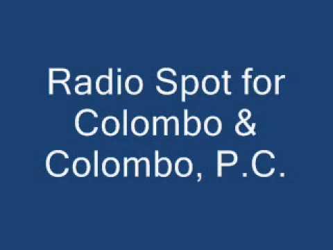 Colombo Radio Spot 2014