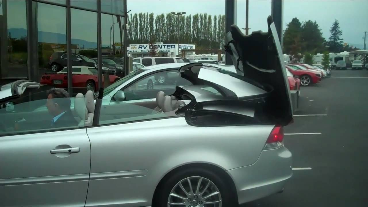 2008 Volvo C70 Hard Top Convertible  YouTube