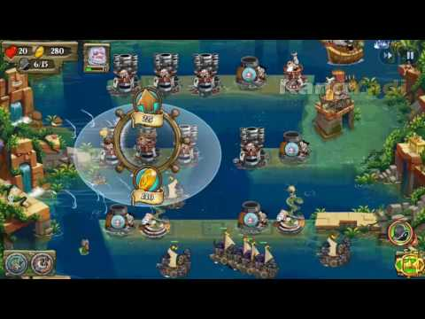 Pirates Legend TD   Stage 11 Lost Temples 1 Easy