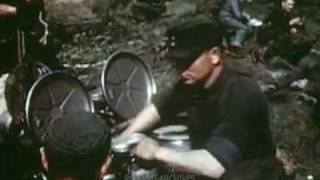 1945 UNEDITED RAW FOOTAGE! The Wehrmacht Leaves Italy Escorted by the US Army