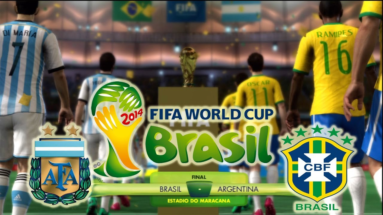 Brasil Vs Argentina: FIFA 2014 World Cup Final Argentina Vs Brasil