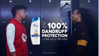 Take it up to 100 – 100% Slow Motion with  Patrick Mahomes & Troy Polamalu | Head & Shoulders
