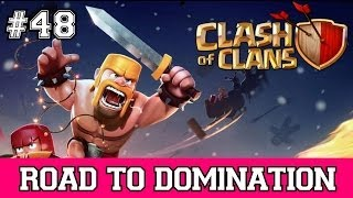 Christmas Speed Raiding Part 2 | Clash of Clans - Road to Domination Ep.48