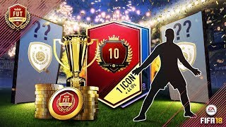 FUT CHAMPIONS TOP 10 MONTHLY REWARDS - 55 TOTW PLAYERS AND 1 ICON!! FIFA18