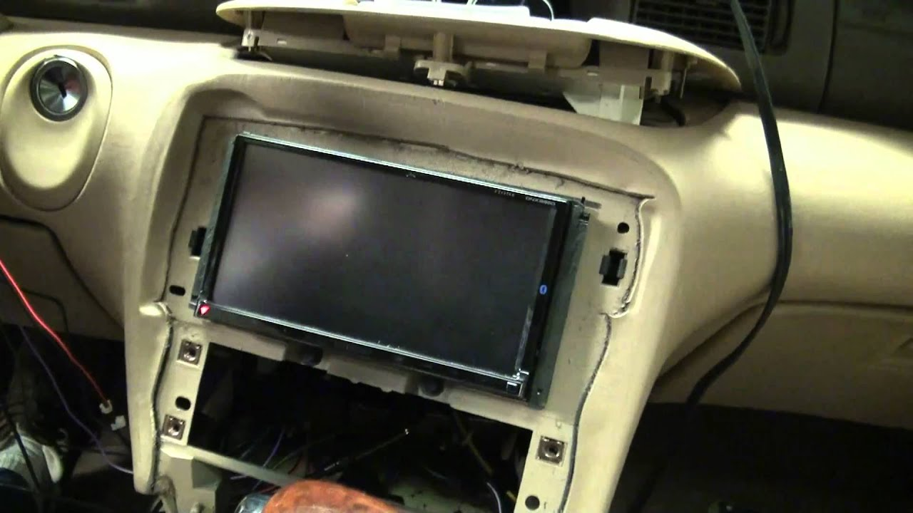 Dnx9960 Part 1 Installation In A 1998 Lincoln Mark Viii Youtube 70 5600 Car Wire Harness Diagram