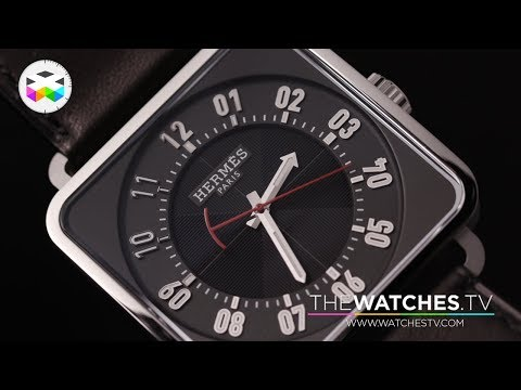 Hermès New Timepieces for 1st participation at the SIHH