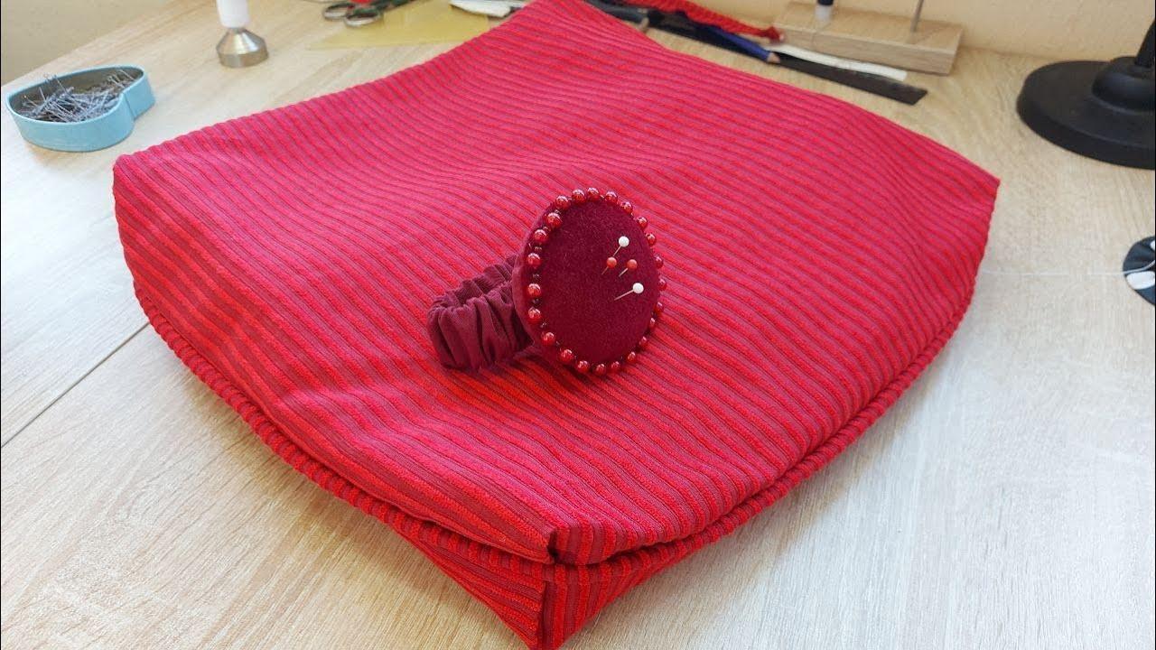 Как сшить нестандартный чехол для диванной подушки. Часть 3