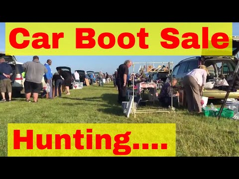 Car Boot Sale footage - Hunting for bargains...