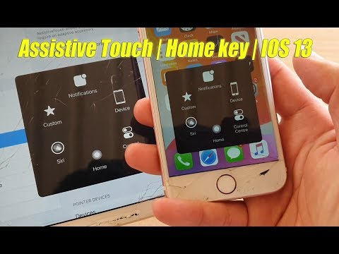 IOS 13: Turn On Assistive Touch / On-screen Home Key Button For IPhone / IPad / IPod