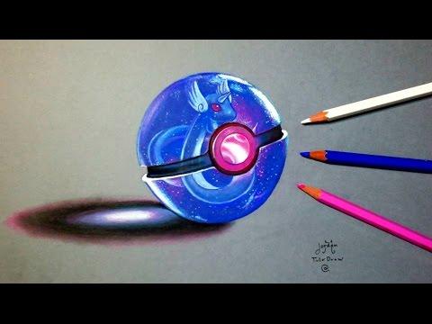 Epic PokeBall 3D Art for Pokémon GO event!