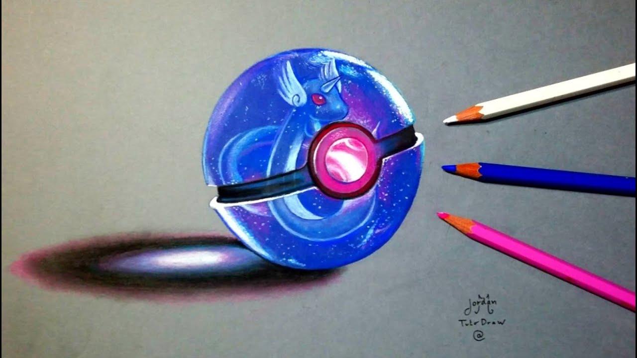 Epic Pokeball 3d Art For Pok 233 Mon Go Event Youtube