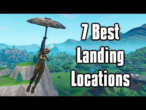 7 Best Landing Locations For Arena + Scrims! - Fortnite Battle Royale (Season 9)