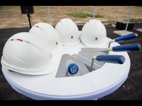 Закладка первого камня строительства логистического комплекса ГК ВИК